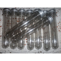 Tubos De Ensayo Plastico, Con Tapa De Aluminio