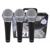 Micrófono Dinamico 3 Set R21 Samson + Case ( Envío Gratis )