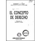 Libro: El Concepto De Derecho - Herbert L. A. Hart - Pdf
