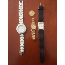 Lote 3 Relojes Dama Pulsar, Apt 9 Y F Precio Es X Los 3 #59
