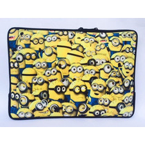 Capa Case P/ Notebook Minions Luva Personalizada 14