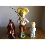 Antiguos Frascos De Perfume De Avón Caballo Niño Campesino