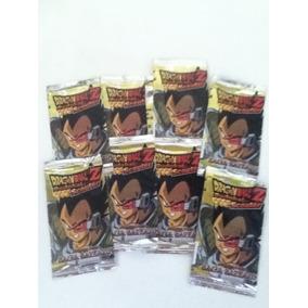 Lote De 9 Sobres Cerrados Cartas Dragon Ball Budokai Scouter