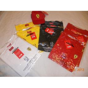 Remeras Ferrari-shell 2012 Oficiales (sólo Talles S Y M)