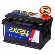 Bateria Automotiva Excell 55ah 12v Com Iso 9001 E Inmetro.