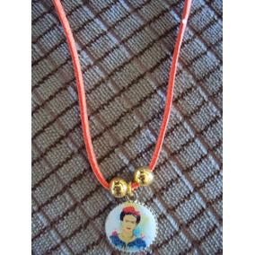 Collar Con Dije De Frida Kahlo