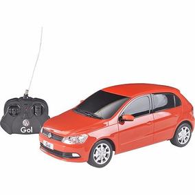 Carro Controle Remoto Volkswagen Gol Vermelho 1:18 Cks Toys