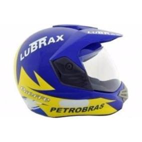 Capacete Bieffe 3 Sport Paris Dakar Lubrax Azul