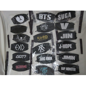 Máscaras Kpop - Bts / Exo / Monsta X -black Pink / Twice - U