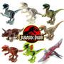 Jurassic World Jurassic Park 8 Dinosaurios Lego Compatible.