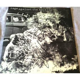 Vinil Rage Against The Machine Autografado 4 Integrantes