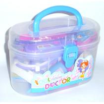 Maleta Medica Brinquedo Infantil Menino Kit 18 Pcs + Maleta