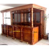Bar De Madera Usado