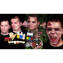 Kit De Maquillaje Para Halloween, Dia De Muertos, Zombies