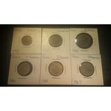 Lote De 6 Monedas Rusia Cccp, Koneek Koneukn 1961-1978