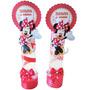 10 Tubetes Personalizados Minnie Vermelha. Minnie. + Lindos