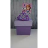 Cajas Souvenirs Princesa Sofía X10 Un. Super Originales!