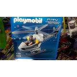 Helicoptero De Playmobil 5916 Para Edad De 4 A 10 Años