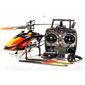 Helicoptero Wltoys V913 Em Aluminio Controle Remoto 2,4ghz
