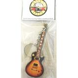 Guitarra Llavero Gibson Les Paul Tobacco Slash Guns N Roses