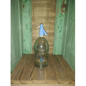 Sifones De Soda Antiguos Vidrio Muy Grueso