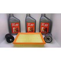 Óleo Selenia K 15w40 + Filtros Fiat Palio Motor Fire 1.0