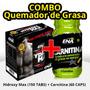 Combo Quemador De Grasa Ena Hydroxy Max + Carnitina Pce