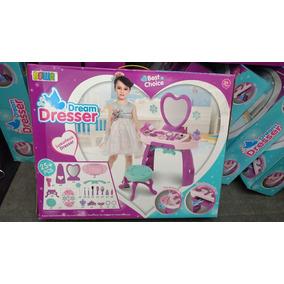 Penteadeira Infantil Princes Dream Dresser+25 Peças