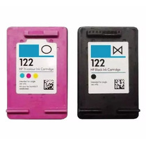 Kit Cartucho Hp 122 Preto Color Impressora Hp Deskjet 2050