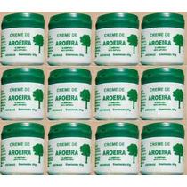 Creme De Aroeira - Pomada De Aroeira -kit Com 12 Potes