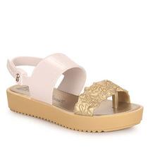 Sandália Infantil Grendene Barbie - 23 Ao 34 - Dourado(a)
