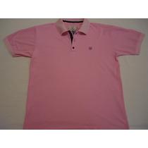 Golf Play Camisa Camiseta Polo Masculina Cor Rosa
