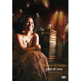 Dvd Mariene De Castro - Santo De Casa Ao Vivo