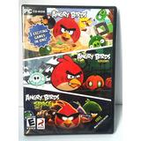 Juego Pc Angry Birds Space Cd Original Nuevo Sellado Navidad