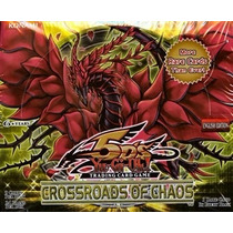 Yugioh Yu-gi-oh! Crossroads Of Chaos Caja Con 24 Paquetes