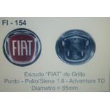 Escudo Fiat De Grilla Punto/palio/aventure 85 Nm