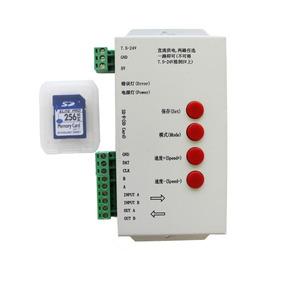 Controlador De Pixeles T1000s Dmx 512 Rgb Led