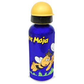 Termo/botella De Aluminio Con Motivo Infantil-abejitas.