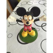 Adorno Torta Mickey En Porcelana Fria