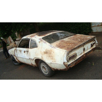 Maverick Branco Com Motor 6cc ( Placa Amarela) Ou Em Peças