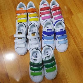 zapatillas adidas niño superstar velcro