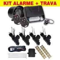 Kit Alarme Automotivo Fks Fk702 + Trava 4 Portas Universal