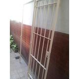 Puerta Reja De Seguridad Con Colocación