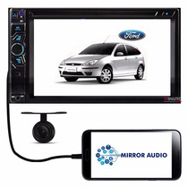 Central Multimídia Ford Focus Dvd Tv Bluetooth Câmera De Ré
