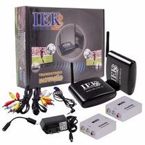 Transmissor Receptor Audio Video Sem Fio Iek Ent/saída Hdmi