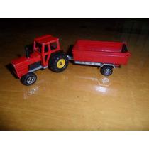 Autito Majorette Nº 208. Tractor. Microcentro-avellaneda.