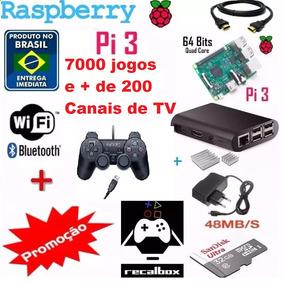 Raspberry Pi Multijogos Emuladores 6711 Jogos E 2 Controles