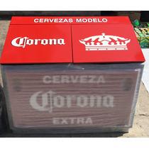 Hielera Corona Doble Tapa