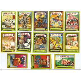 Lote De 13 Figurinhas - Gang Do Lixo - Para Colar.