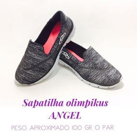 Sapatênis Olympikus Angel S/ Cadarço Sapatilha Varias Cores